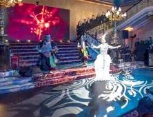 在英国皇宫演出南涧跳菜节目