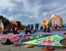 原生态歌舞团上央视《丰收中国》节目演出活动